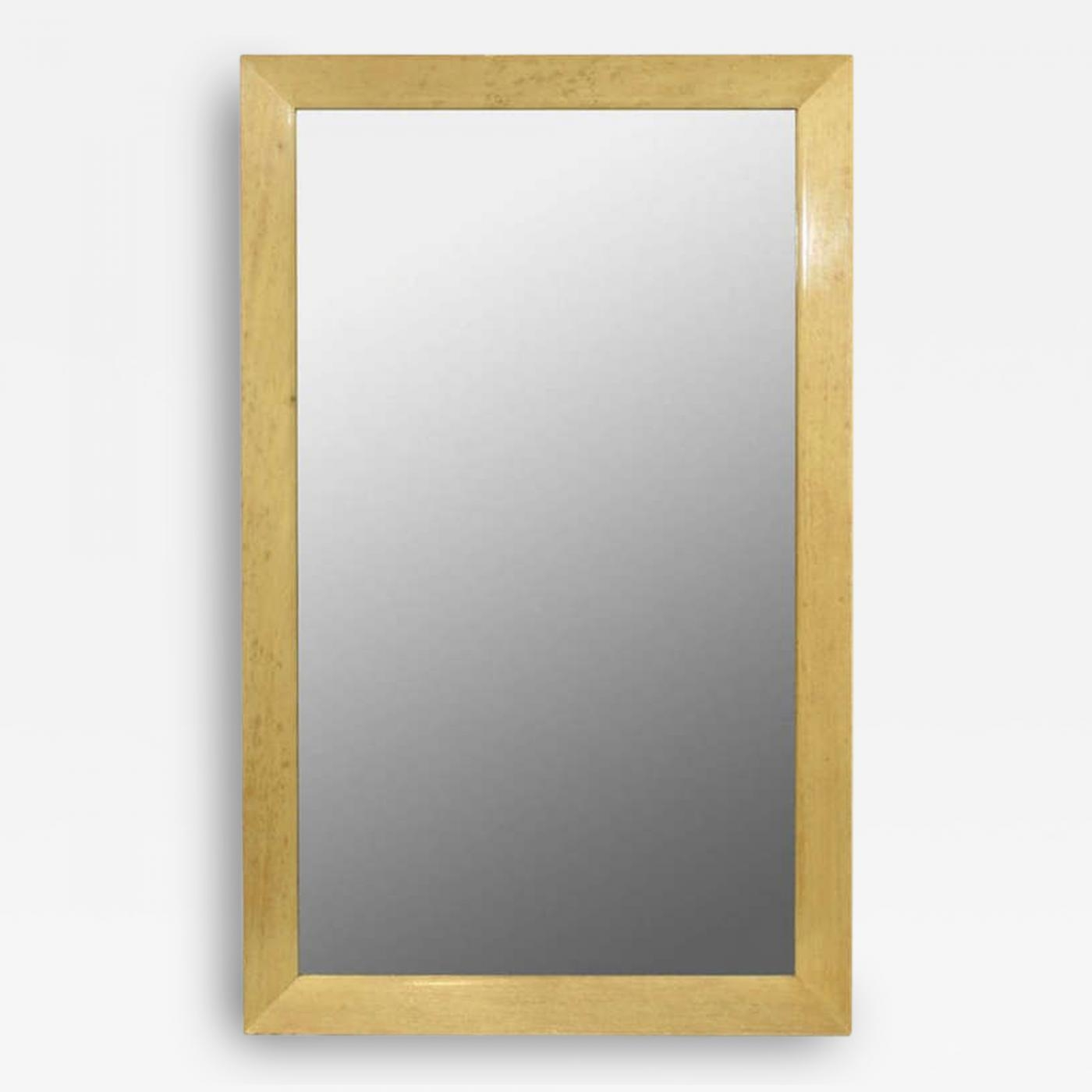 Paul T Frankl An Oak Framed Wall Mirror Paul Frankl For Johnson Pertaining To Oak Framed Wall Mirrors (Image 12 of 15)
