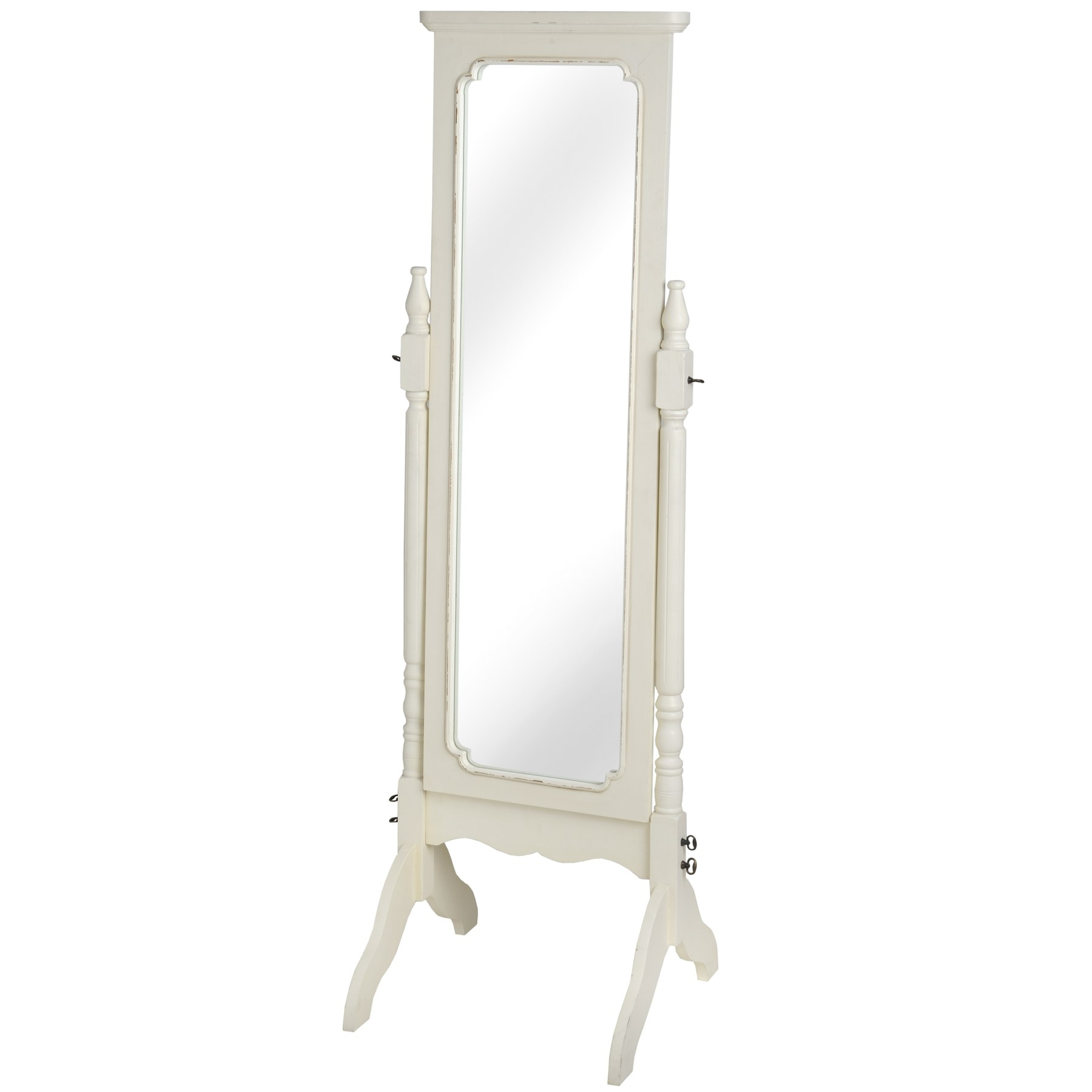 Pavilion Mirror On A Stand From Baytree Interiors With Regard To Shabby Chic Free Standing Mirror (View 3 of 15)