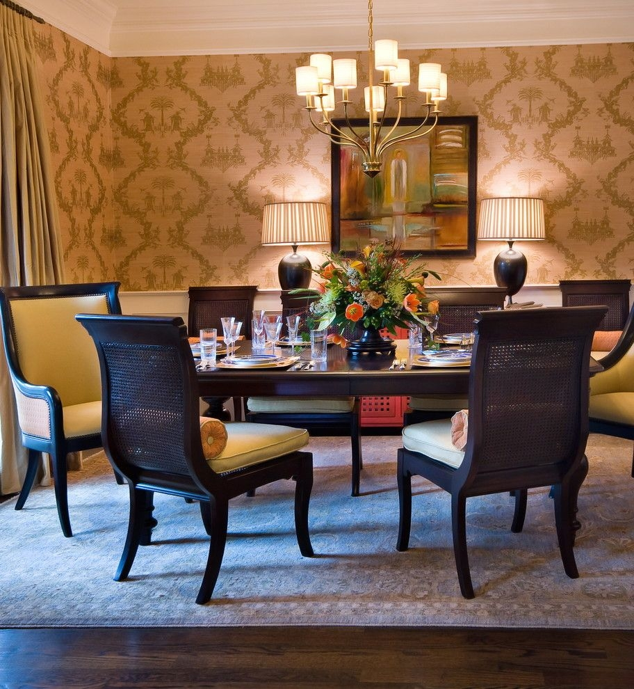 Peaceful Valley Furniture For A Traditional Dining Room With A With Traditional Brass Chandeliers (Image 13 of 15)