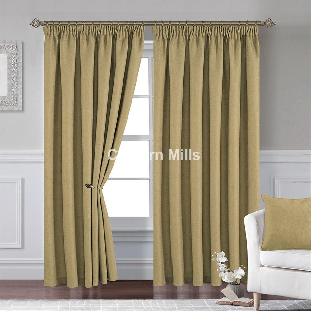 Pencil Pleat Curtains Cheap Pencil Pleats Uk Chiltern Mills For Pencil Pleat Curtains (Image 12 of 15)