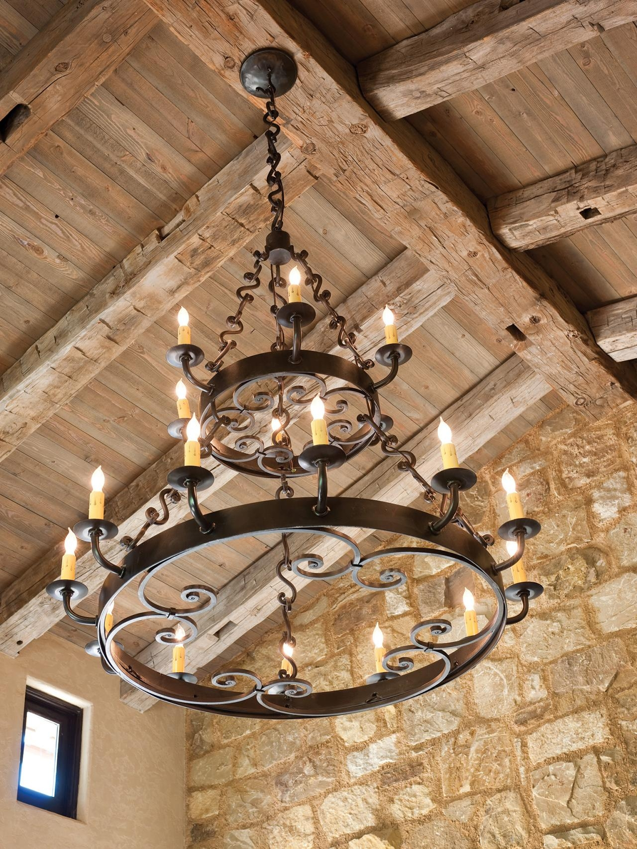 Photo Page Hgtv Within Large Iron Chandeliers (View 2 of 15)