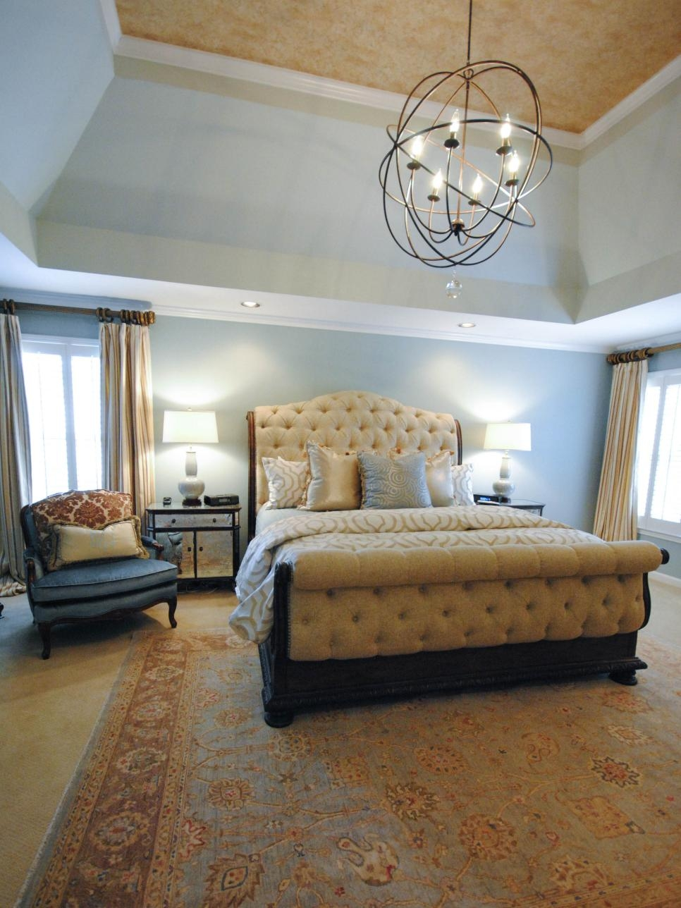 Pictures Of Dreamy Bedroom Chandeliers Hgtv Throughout Bedroom Chandeliers (Image 15 of 15)