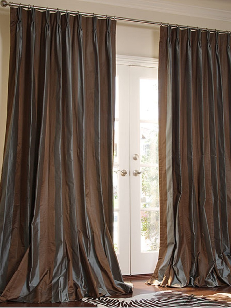 Pinch Pleat Drapes Ebay Sewing Pinterest Style Pleated For Silky Curtains (Image 9 of 15)