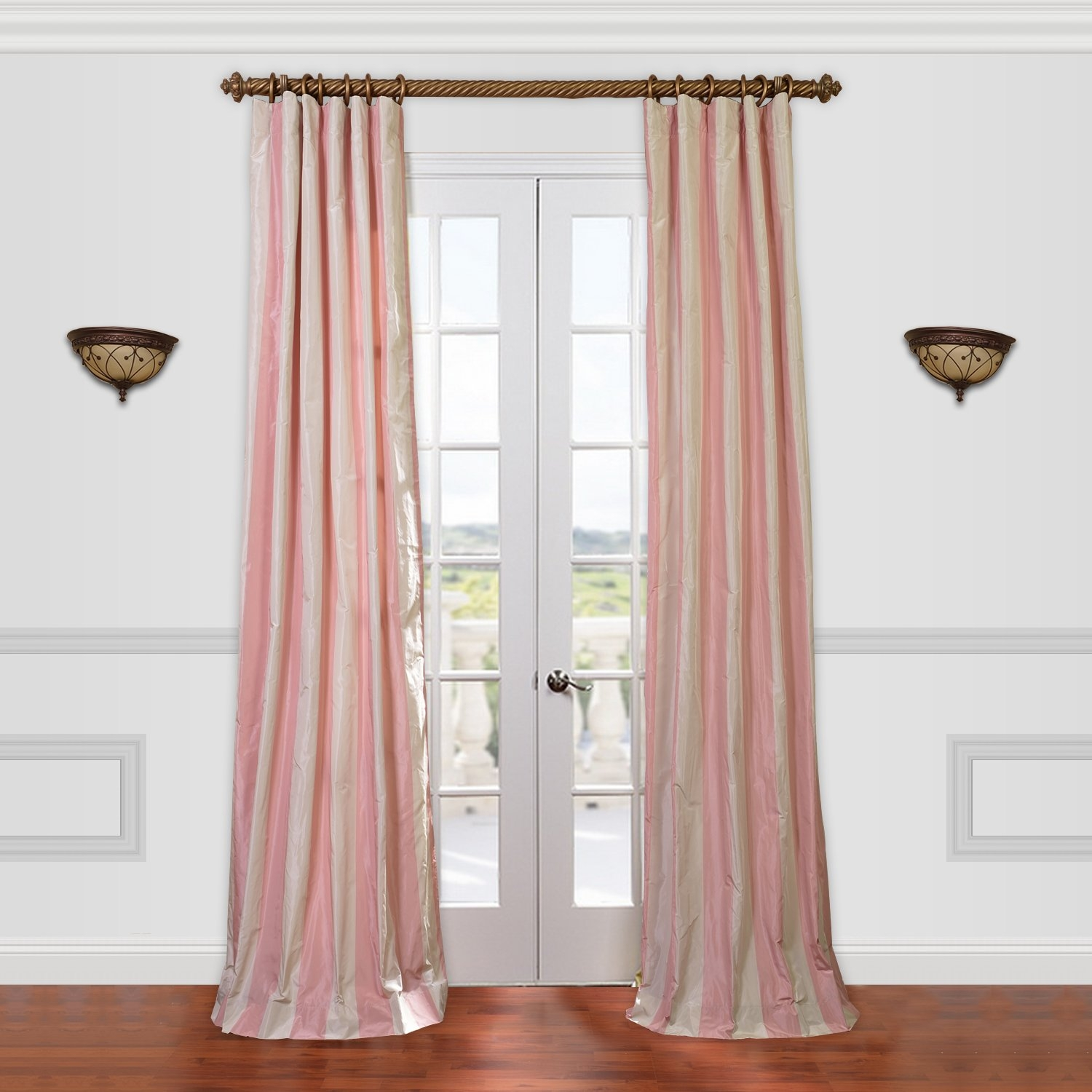 Pinch Pleated Drapes Curtains Wayfair In Natural Fiber Curtains (Image 11 of 15)