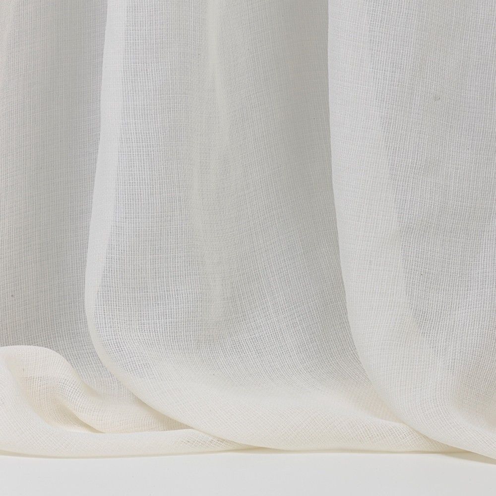 Plain Sheer Curtain Fabric Polyester Opalino Dedar Milano For Sheer Linen Fabric Curtain (Image 8 of 15)