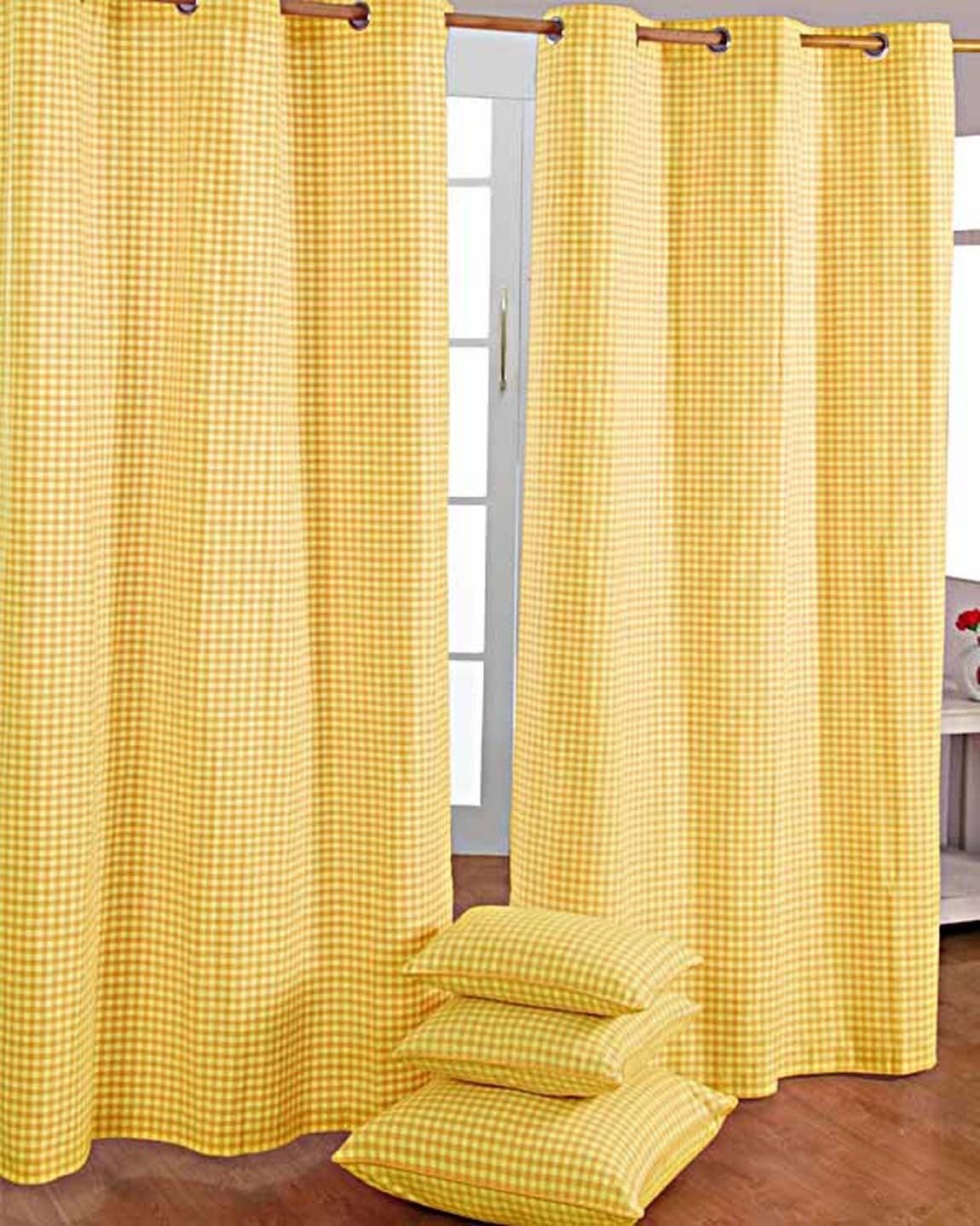 Plain Yellow Eyelet Curtains Best Curtains 2017 With Cotton Eyelet Curtains (View 6 of 15)