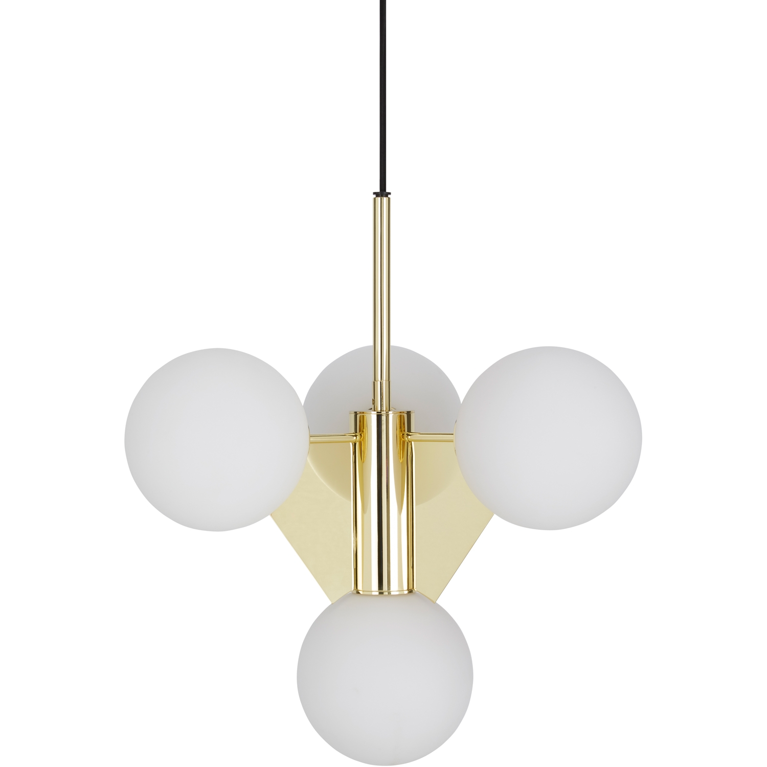 Plane Short Chandelier Tom Dixon Horne With Short Chandelier (Image 10 of 15)