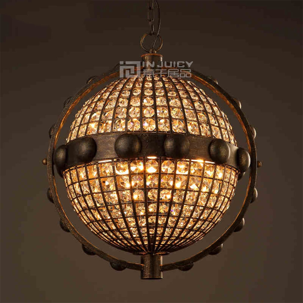Popular Globe Crystal Chandelier Buy Cheap Globe Crystal Pertaining To Globe Crystal Chandelier (Image 14 of 15)