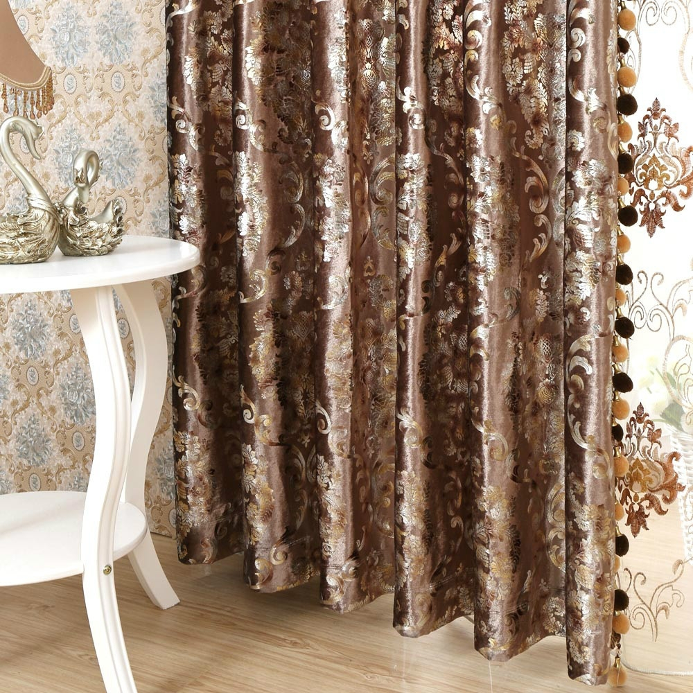 Popular Grey Velvet Curtains Buy Cheap Grey Velvet Curtains Lots Inside Dark Brown Velvet Curtains (Image 10 of 15)