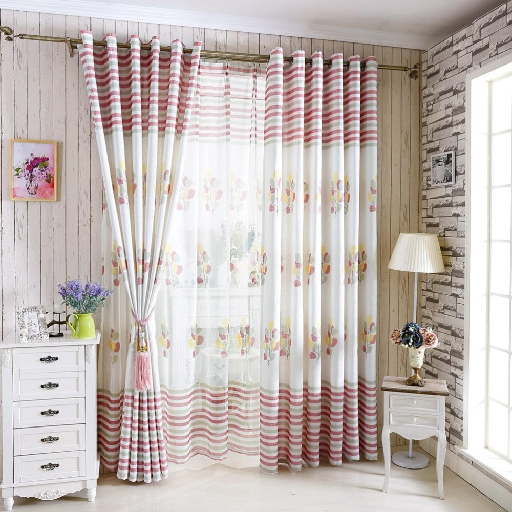Popular Linen Gauze Curtains Buy Cheap Linen Gauze Curtains Lots With Regard To Linen Gauze Curtains (Image 13 of 15)