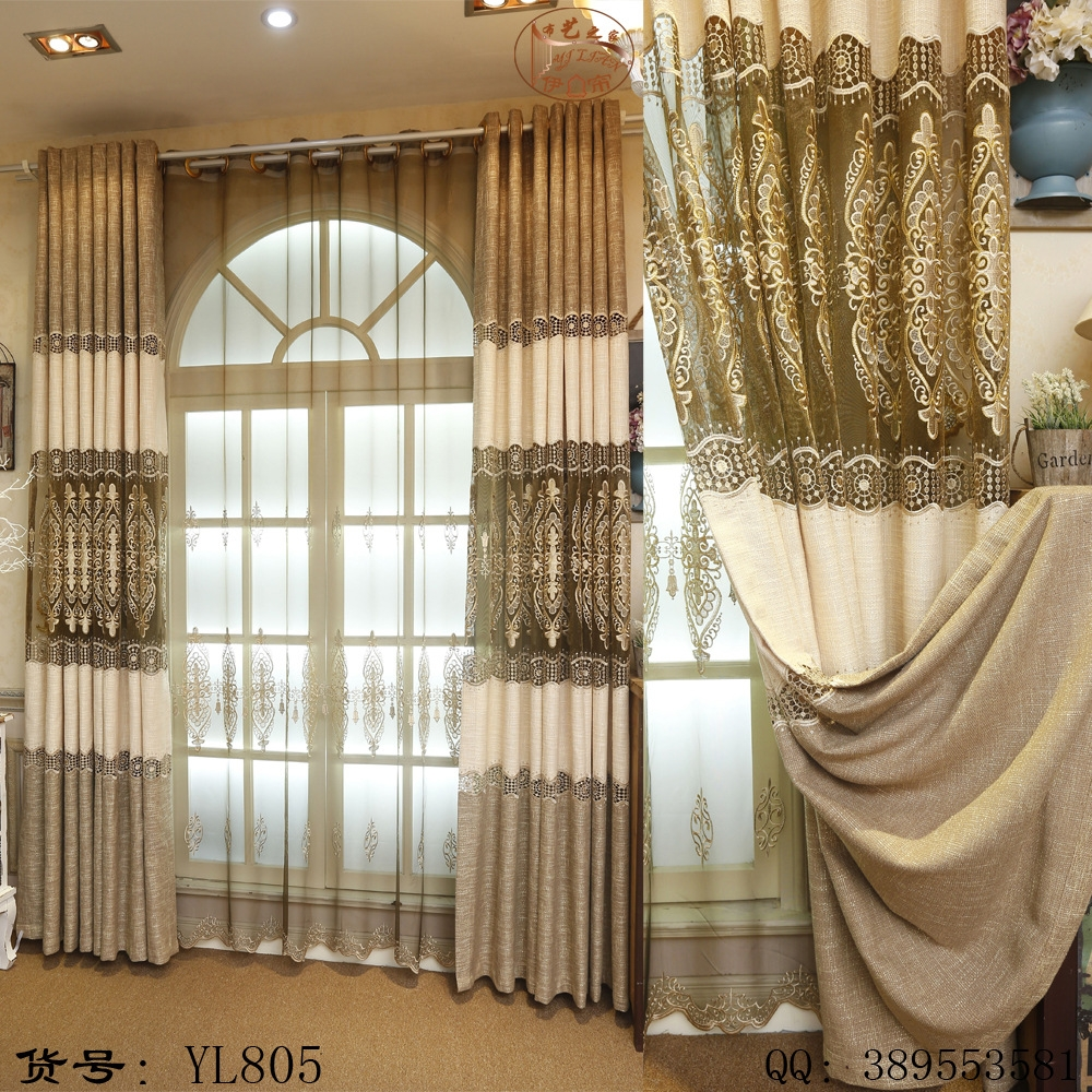 Popular Luxury Linen Curtains Buy Cheap Luxury Linen Curtains Lots With Regard To Linen Luxury Curtains (Image 13 of 15)