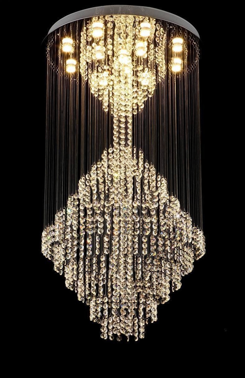 Popular Modern Drop Chandelier Buy Cheap Modern Drop Chandelier Pertaining To Chandelier For Restaurant (Image 11 of 15)