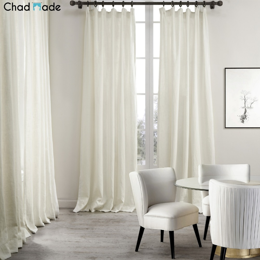 Popular Natural Linen Curtains Buy Cheap Natural Linen Curtains In Natural Fiber Curtains (Image 12 of 15)
