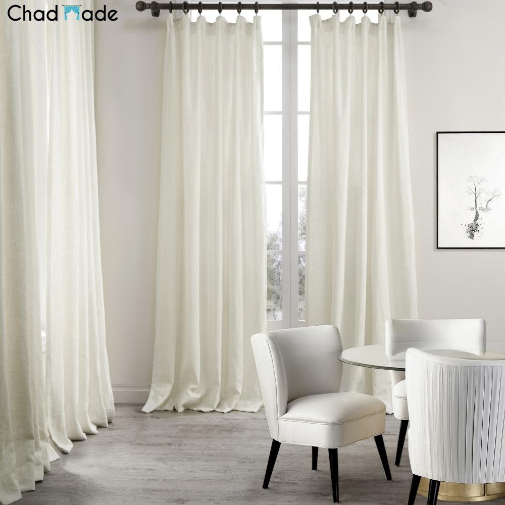 Popular Natural Linen Curtains Buy Cheap Natural Linen Curtains In Plain Linen Curtains (View 10 of 15)