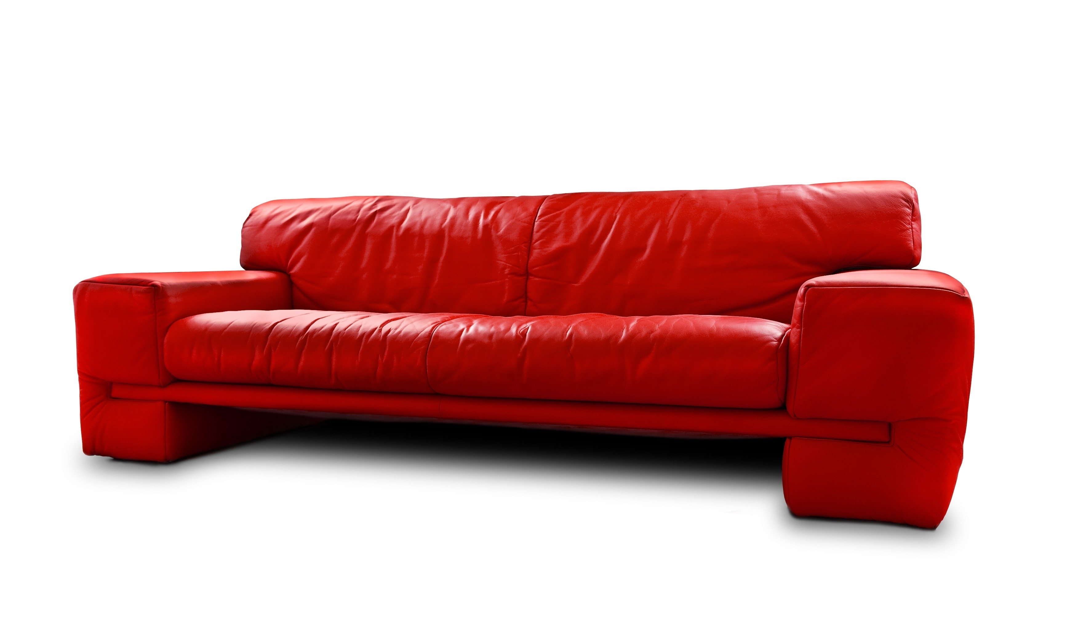 Popular Of Red Leather Sleeper Sofa Coolest Living Room Remodel Inside Cool Sofa Ideas (Image 10 of 15)
