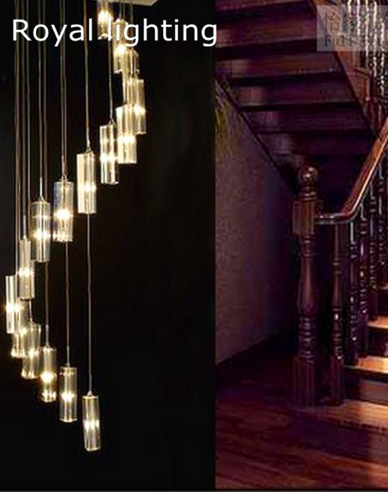 Popular Stairway Chandeliers Buy Cheap Stairway Chandeliers Lots Throughout Stairway Chandelier (Image 13 of 15)