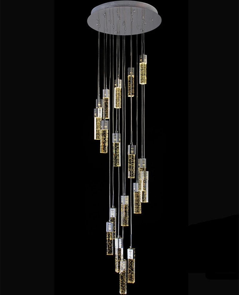 Popular Stairwell Chandelier Buy Cheap Stairwell Chandelier Lots With Long Chandelier Lights (View 6 of 15)