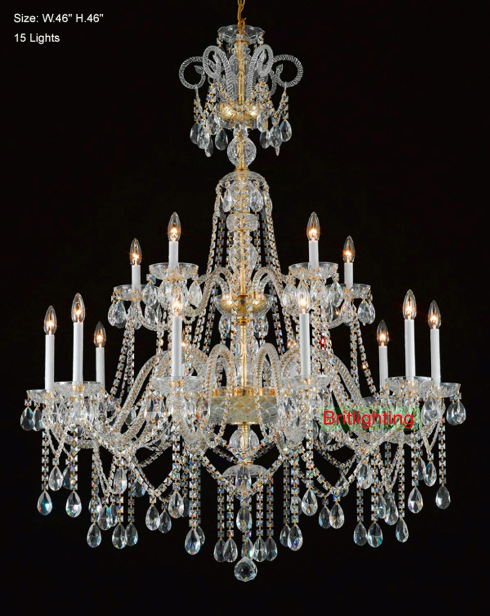 Popular Traditional Crystal Chandelier Buy Cheap Traditional Pertaining To Traditional Crystal Chandeliers (Image 8 of 15)