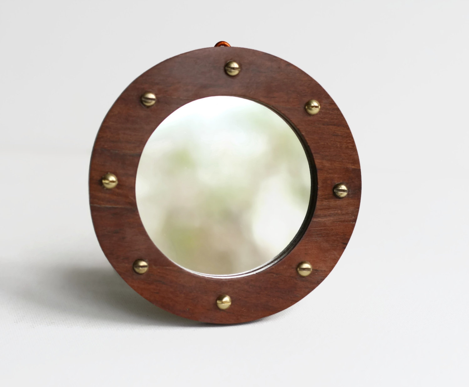Porthole Mirror Etsy Regarding Round Porthole Mirror (Image 7 of 15)
