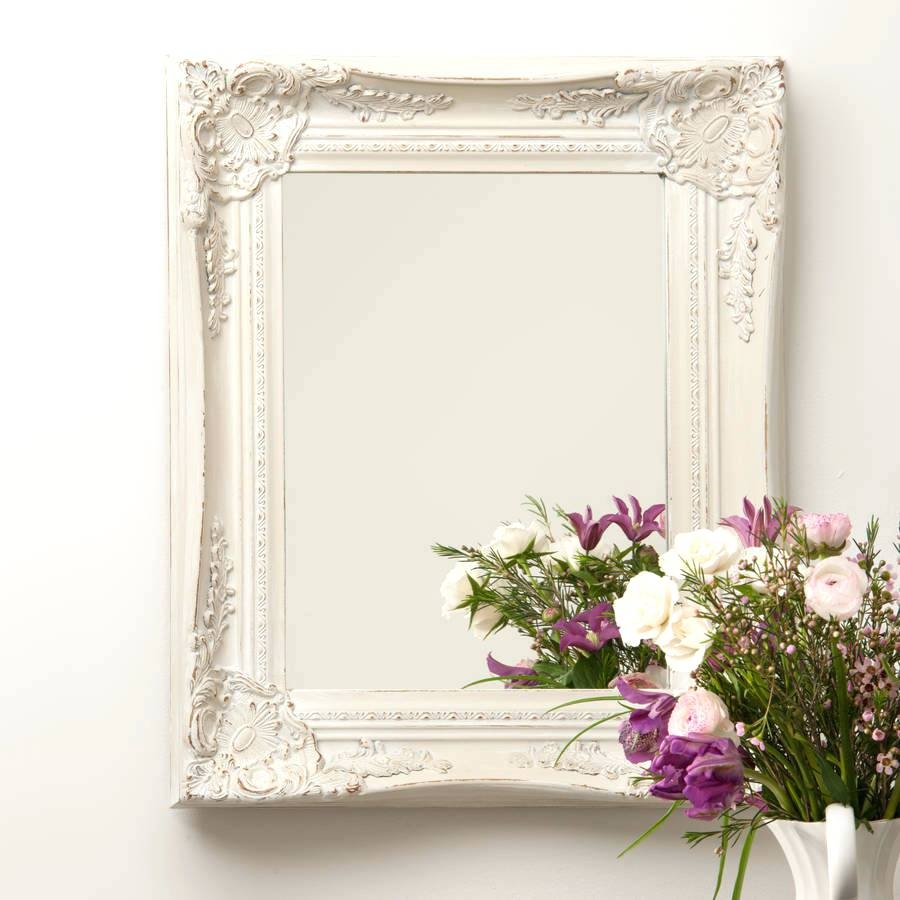 Pottery Barn Bath Mirror French Style Mirrors At Ayers And Graces Throughout Large French Style Mirror (Image 13 of 15)