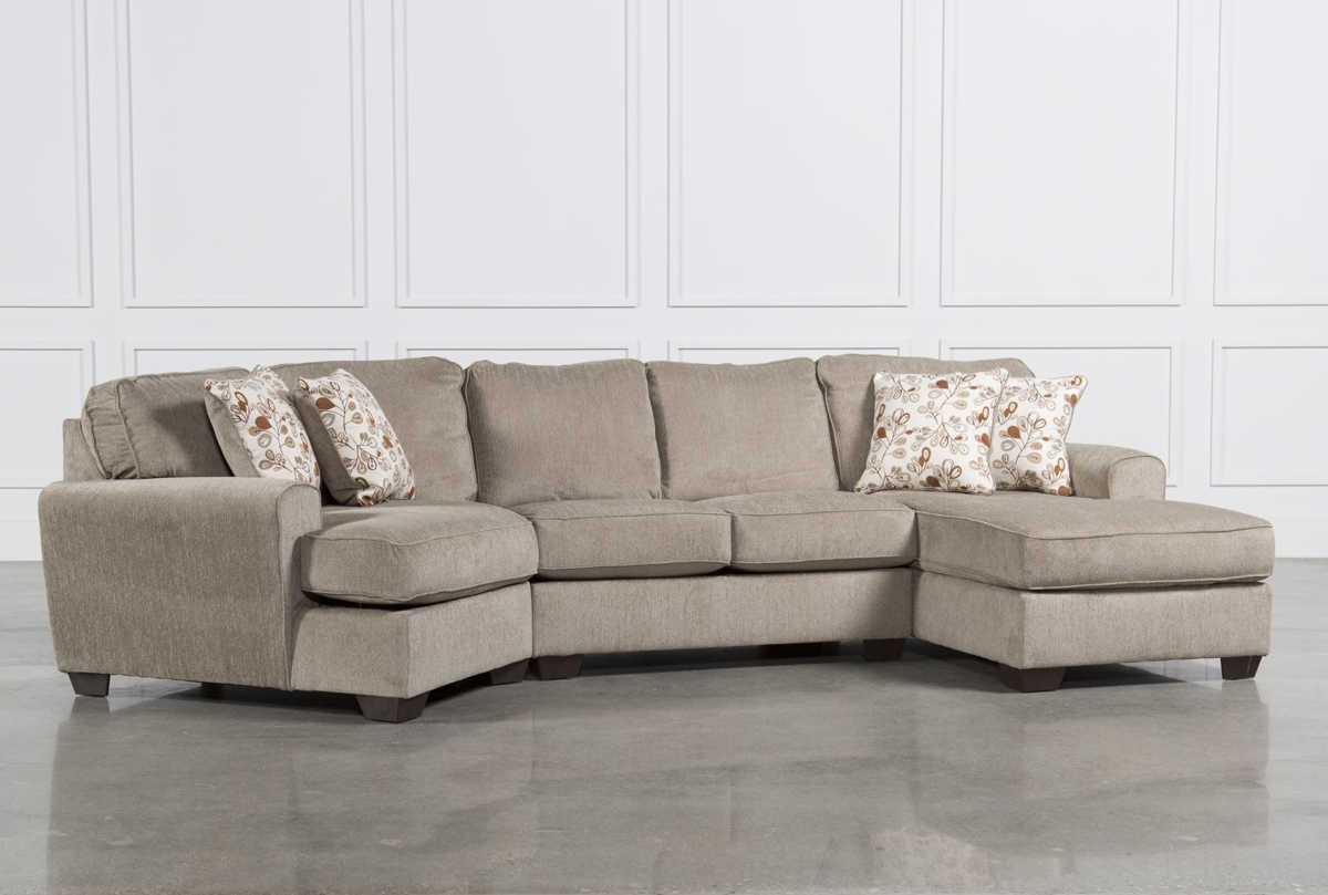 Precious Shab Chic Sectional Fun World Pertaining To Angled Sofa Sectional (Image 10 of 15)