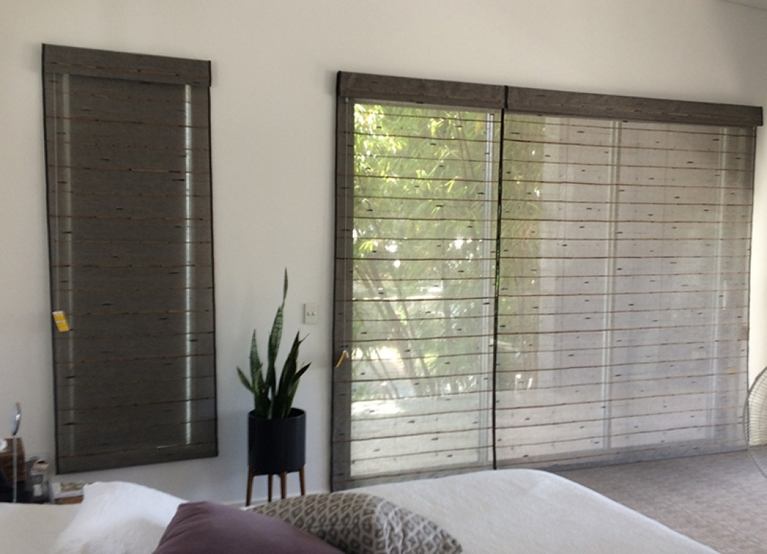 Premium Blinds Silk Road Rustic Weave Hand Made Fabric Throughout Silk Blinds (Image 11 of 15)