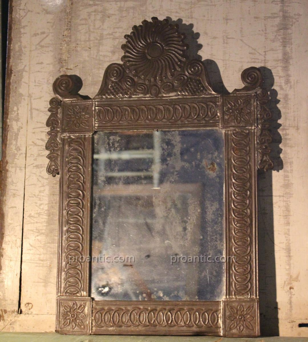 Pressed Tin Mirror Mirrors Within Pressed Tin Mirror (Image 8 of 15)