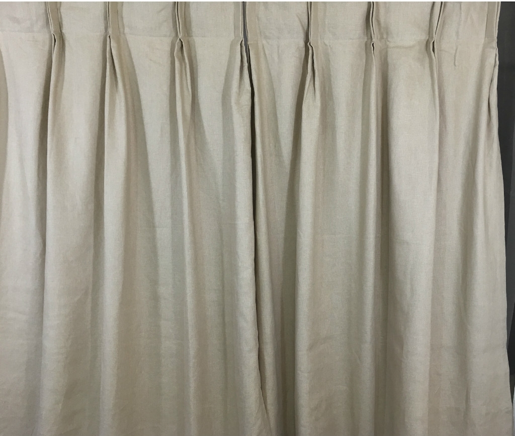 Pretentious Idea Cream Linen Curtains Also Homescapes Natural Within Luxury Linen Curtains (View 8 of 15)