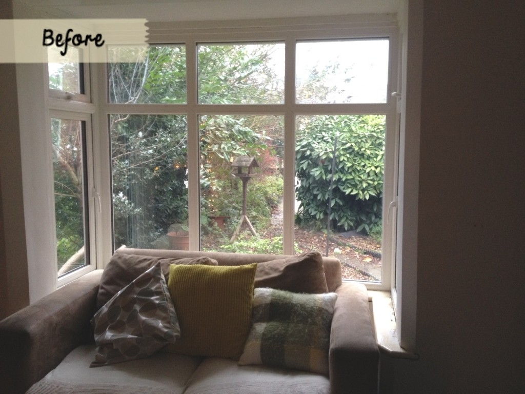 Problem Solver How To Add Warmth To A Bay Window With Roman With Regard To Roman Blinds On Bay Windows (Image 9 of 15)