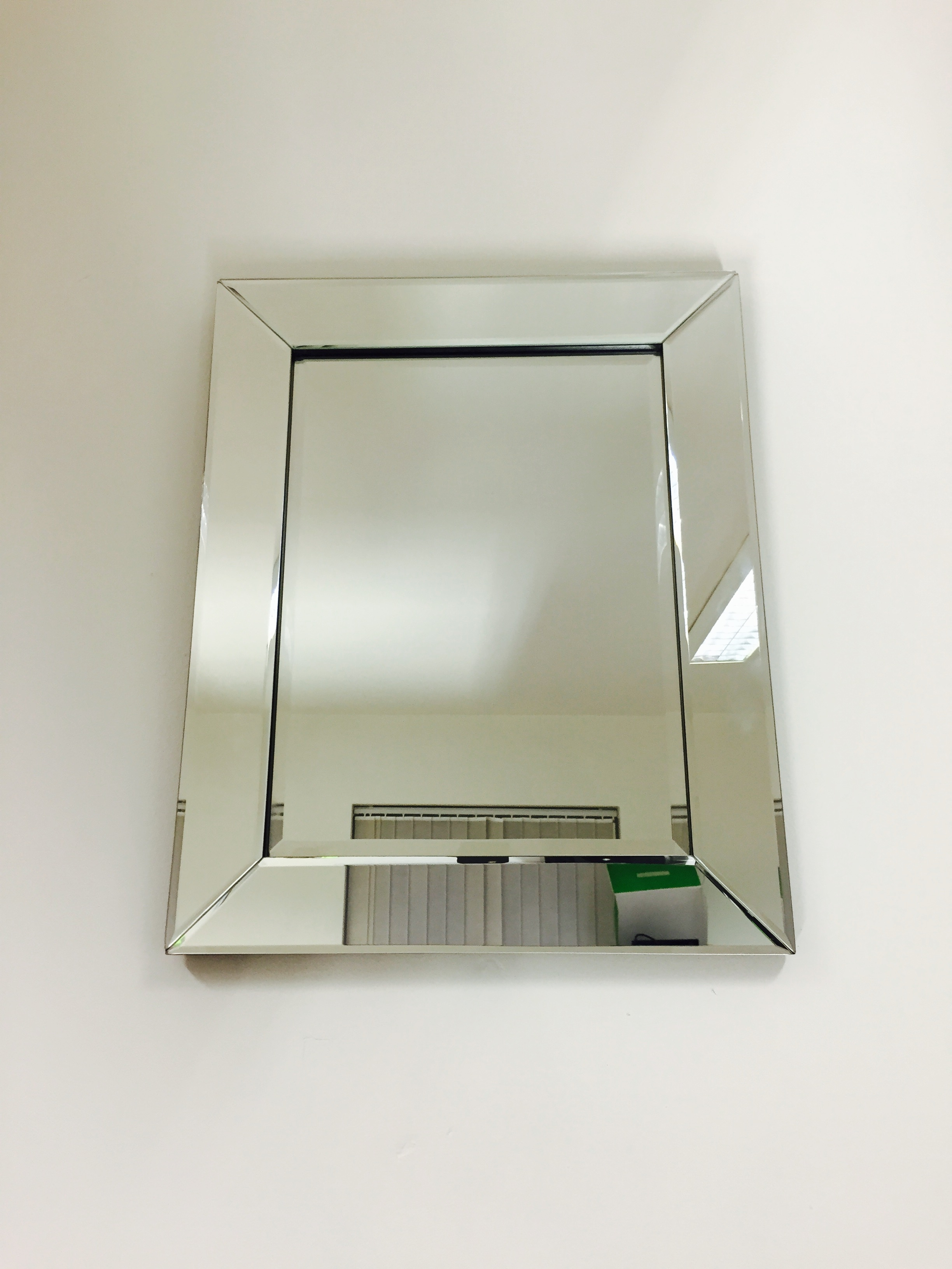 Prs Group Uk Venetian Bevelled Wall Mirror 50cm X 40cm Regarding Venetian Bevelled Mirror (Image 10 of 15)