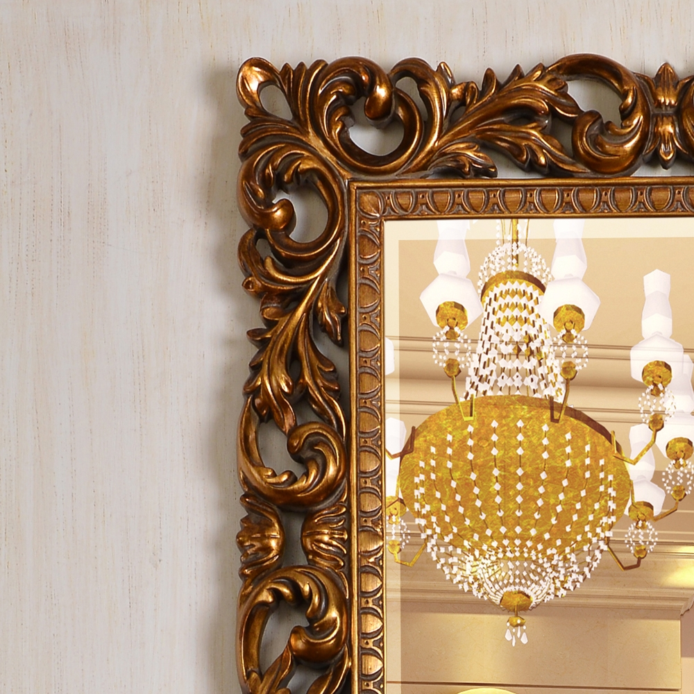 Pu613 China Factory Full Length Antique Gold Wall Mirror For Sale With Antique Wall Mirrors For Sale (Image 8 of 15)