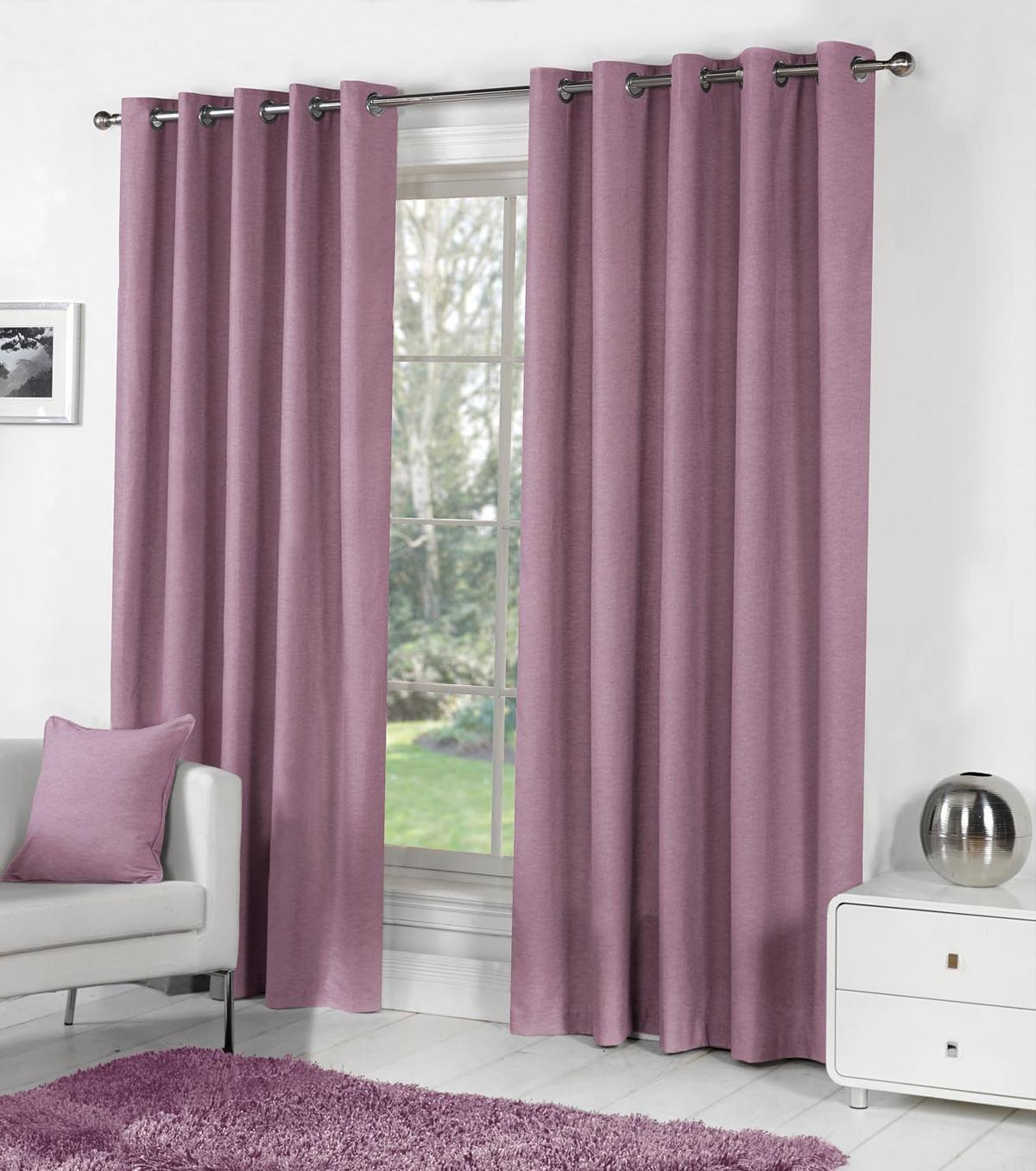 Purple Bay Window Curtains Cheap Window Curtains Terrys Fabrics Within Ready Made Curtains For Bay Windows (Image 10 of 15)