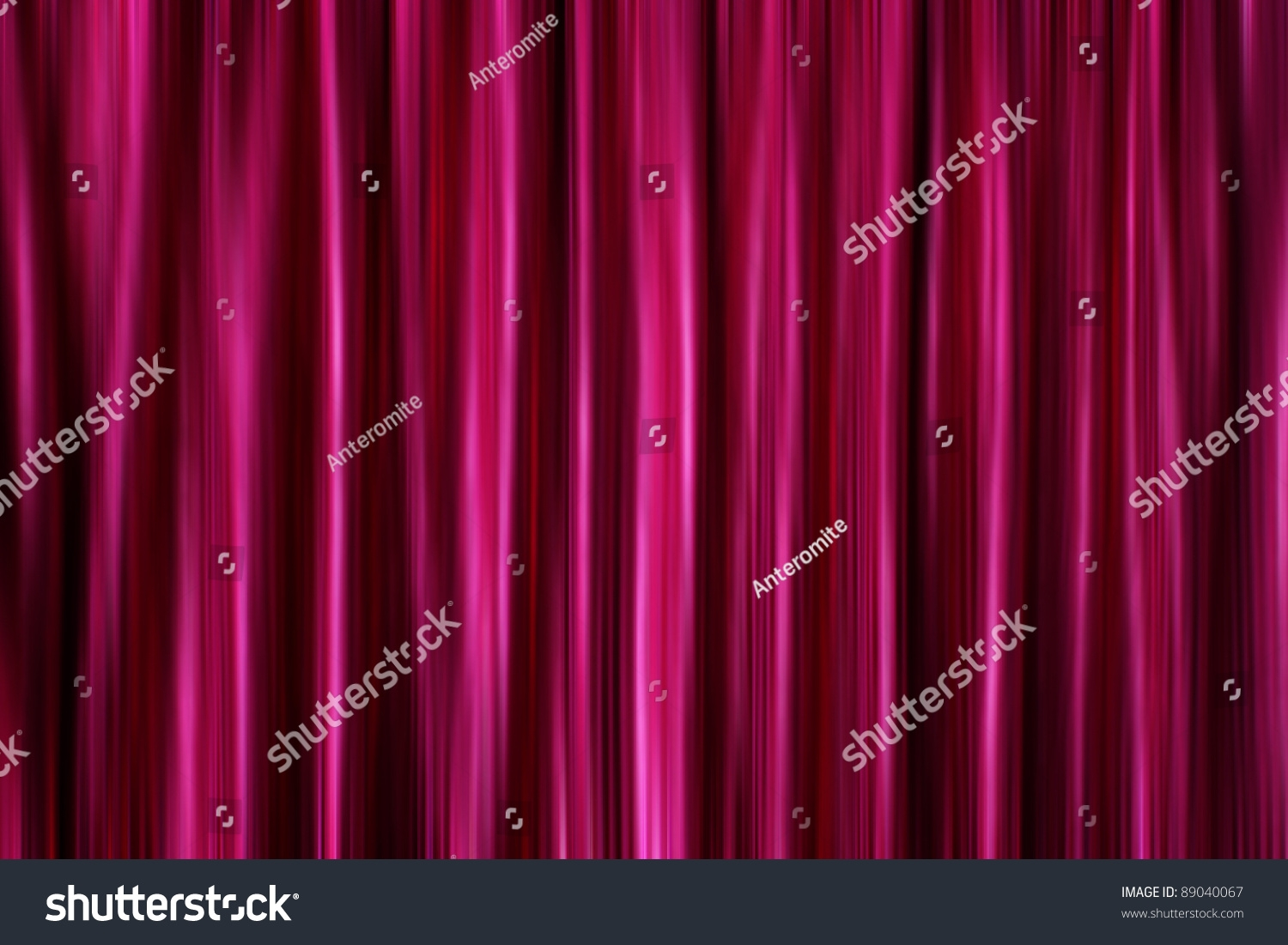Purple Silky Satin Curtains Drapery Background Stock Illustration For Silky Curtains (Image 11 of 15)