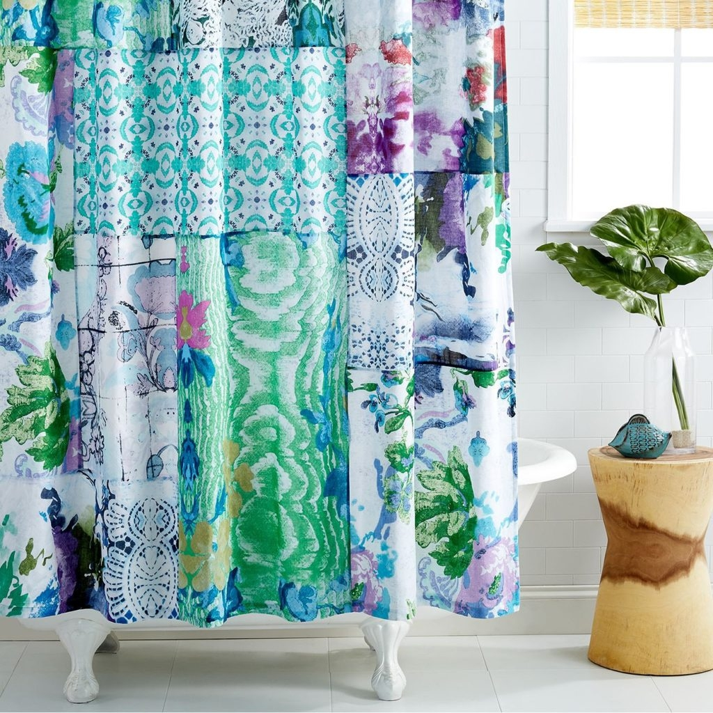 Quirky Shower Curtains Shower Curtain Pinterest Regarding Quirky Curtains (Photo 2 of 15)