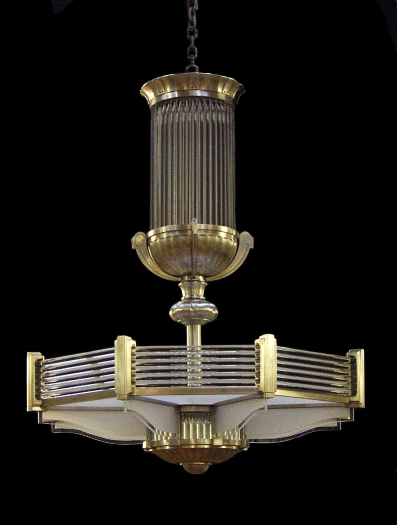 Ralph Lauren Art Deco Style Chandelier Illumination Pinterest With Regard To Large Art Deco Chandelier (Image 15 of 15)