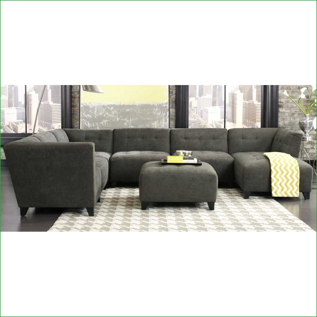 Rambler 6 Piece Modular Sectional 6 Piece Sectional 6 Piece Within 6 Piece Modular Sectional Sofa (Image 12 of 15)