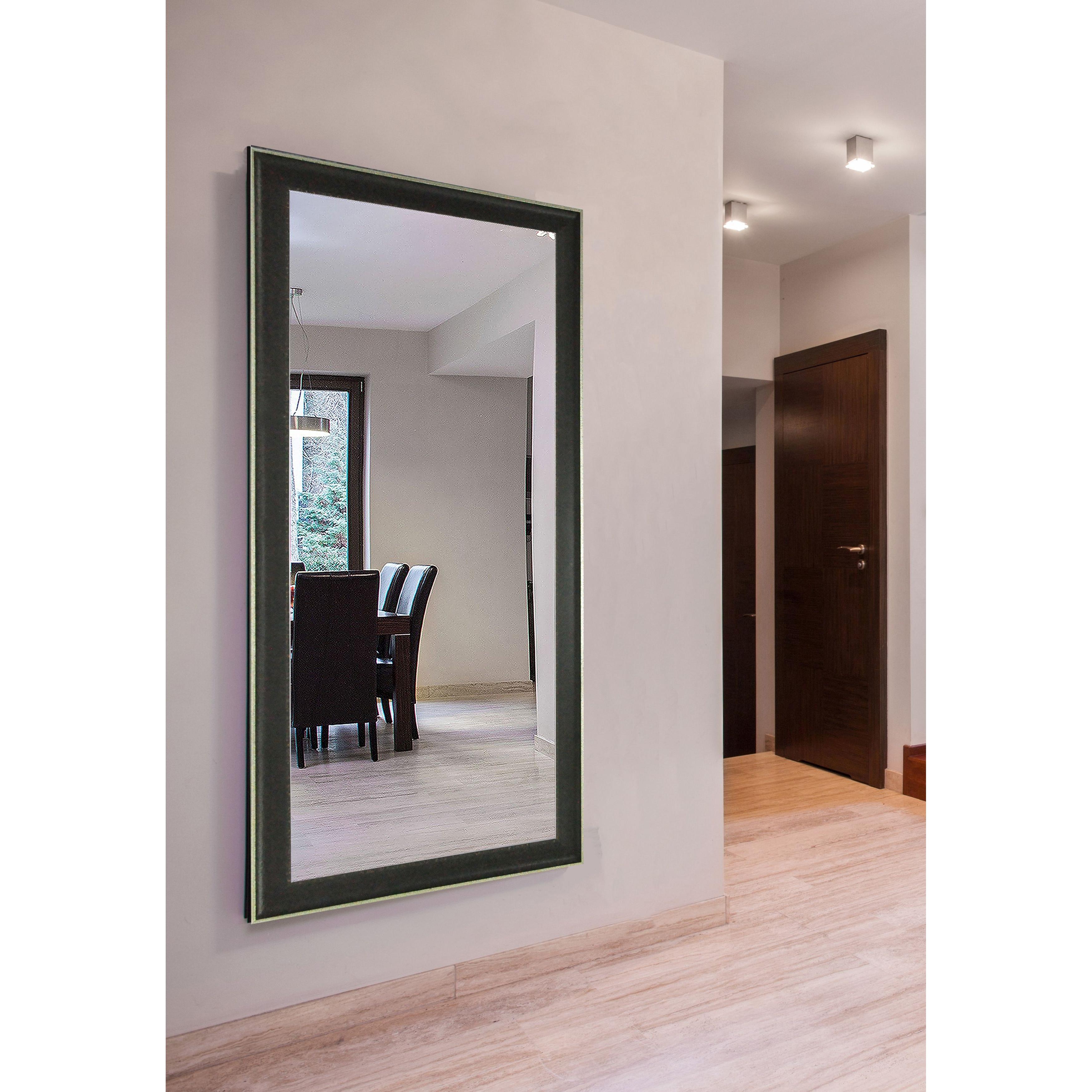 Rayne Mirrors Ava Extra Large Vintage Black Mirror Wayfair Within Extra Large Black Mirror (View 7 of 15)