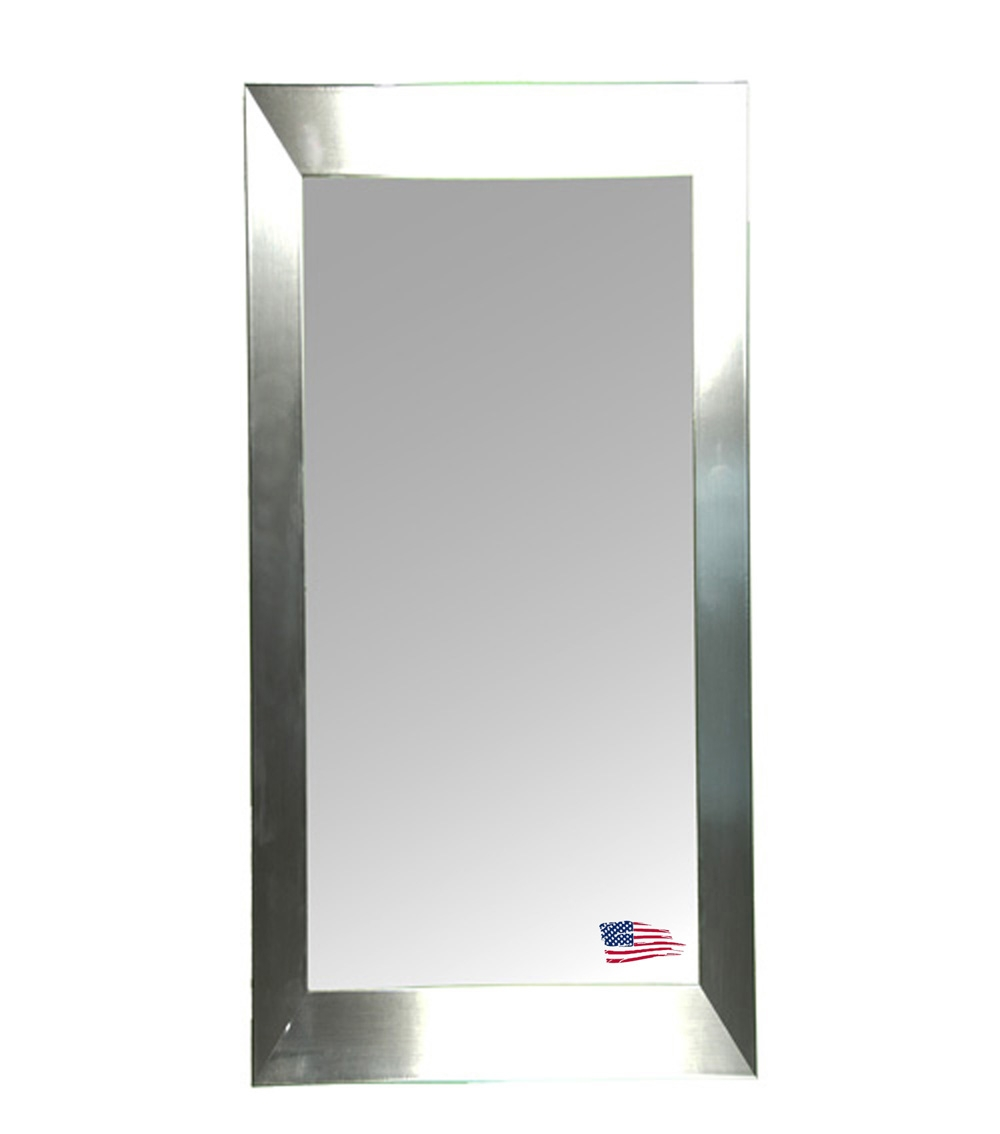 Rayne Mirrors Jovie Jane R002t Silver Grande Tall Wall Mirror Intended For Tall Silver Mirror (Image 11 of 15)