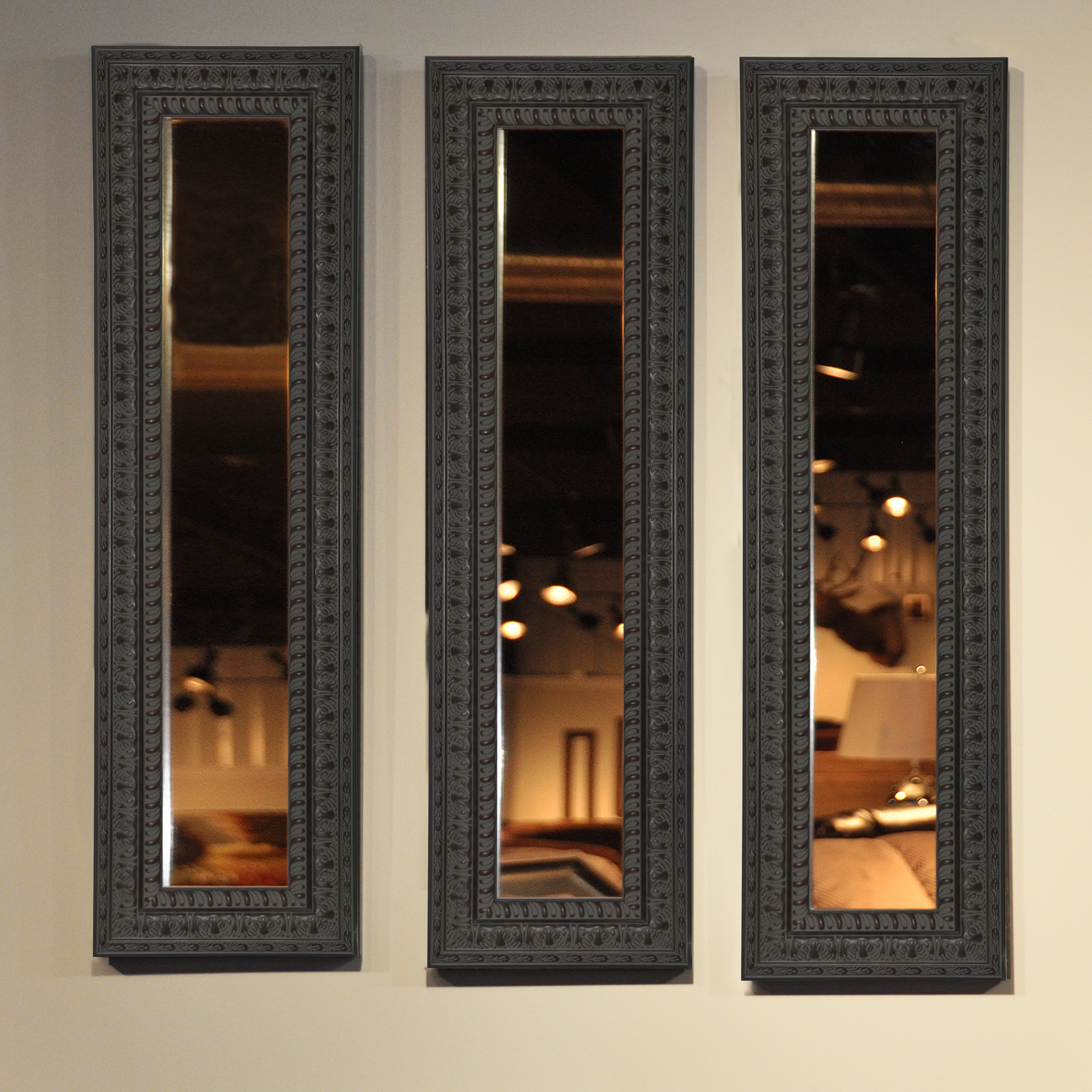 Rayne Mirrors Molly Dawn American Made Dark Embellished Mirror Within Embellished Mirrors (Image 12 of 15)