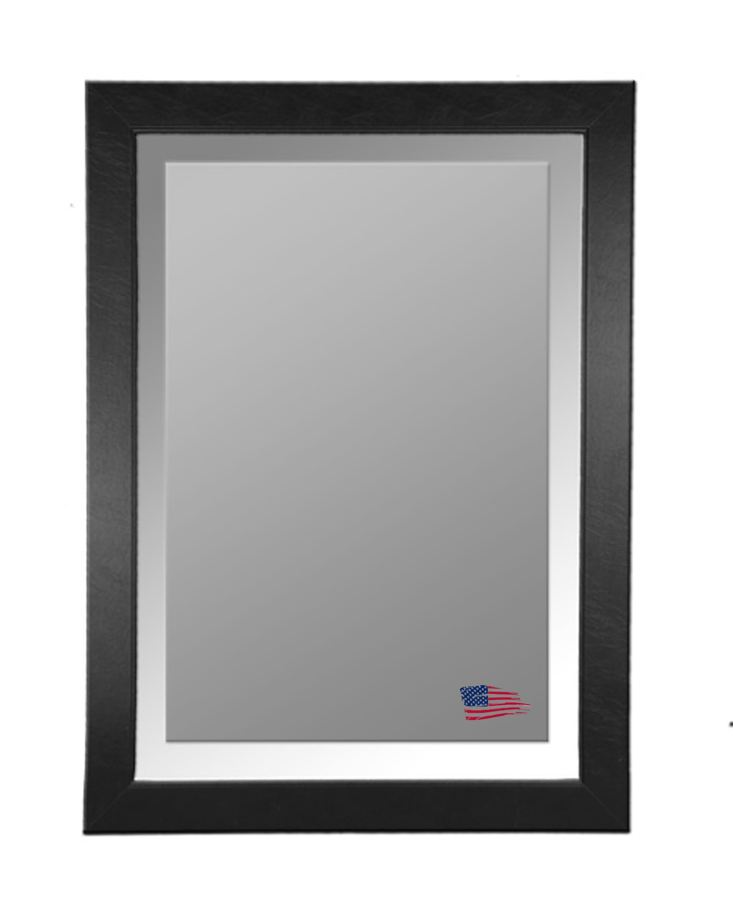 Rayne Mirrors Wall Mirrors Lather Mirrors Rayne Mirrors On Sale In Black Leather Framed Mirror (Image 12 of 15)