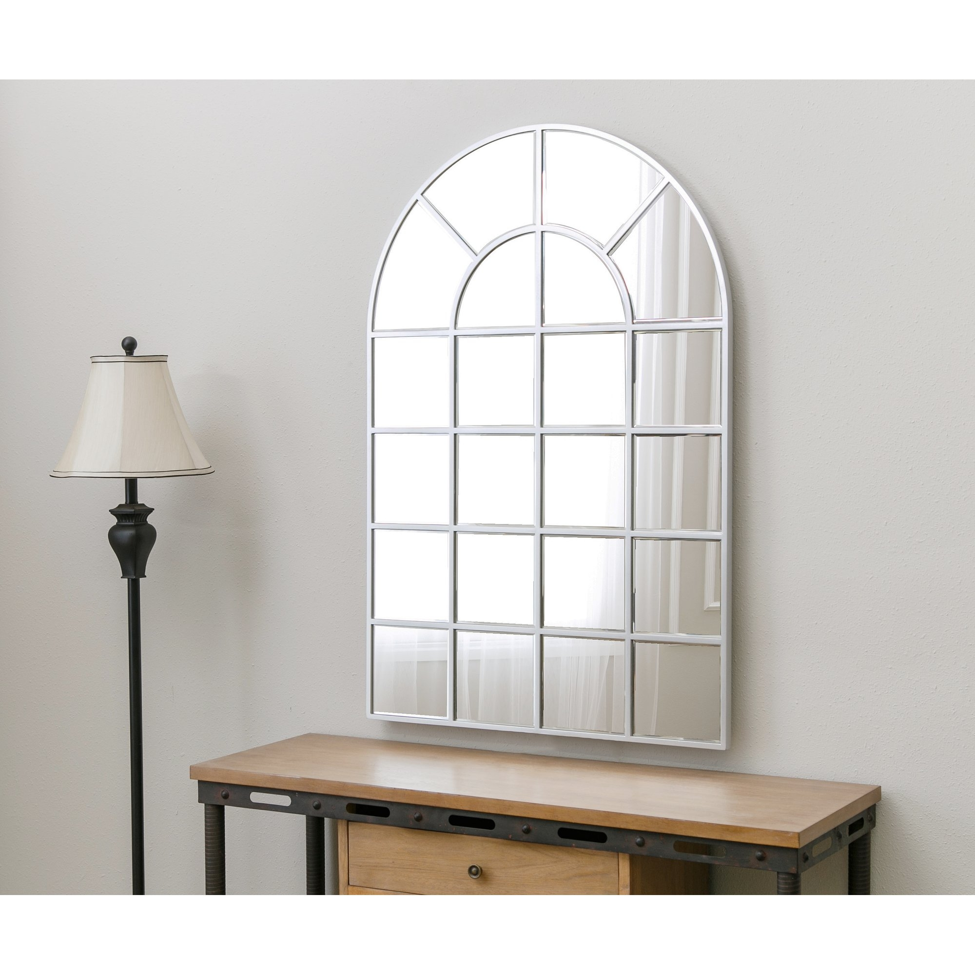 Red Barrel Studio Arched Wall Mirror Reviews Wayfair In Arched Wall Mirror (View 14 of 15)