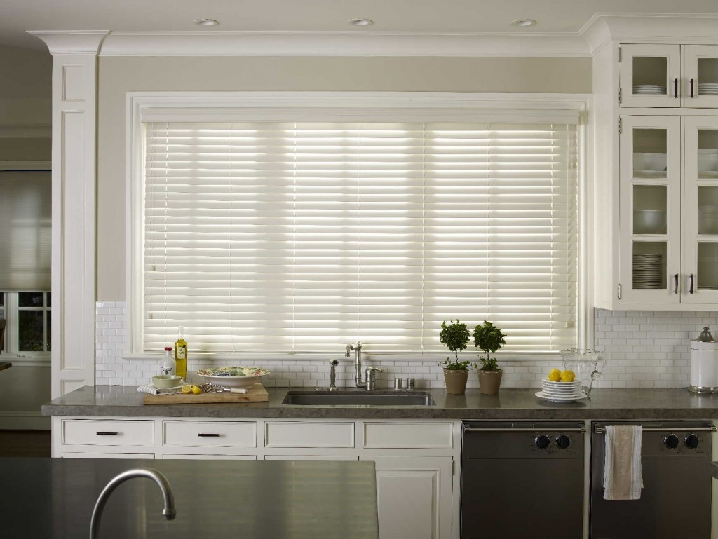 Red Roman Blinds Kitchen Inside Red Roman Blinds Kitchen (Image 10 Of 15)