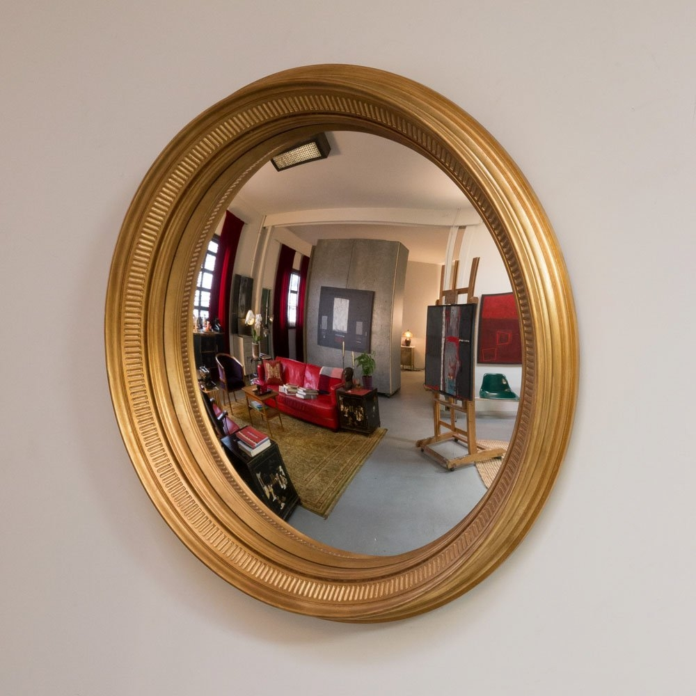 Reflecting Design Bradley 33 Decorative Convex Wall Mirror Pertaining To Decorative Convex Mirrors For Sale (View 13 of 15)