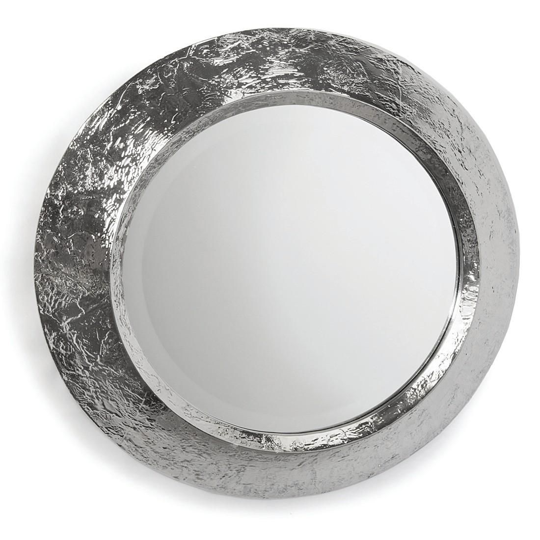 Regina Andrew Design Plated Nickel Convex Mirror Candelabra Inc Regarding White Convex Mirror (Image 11 of 15)