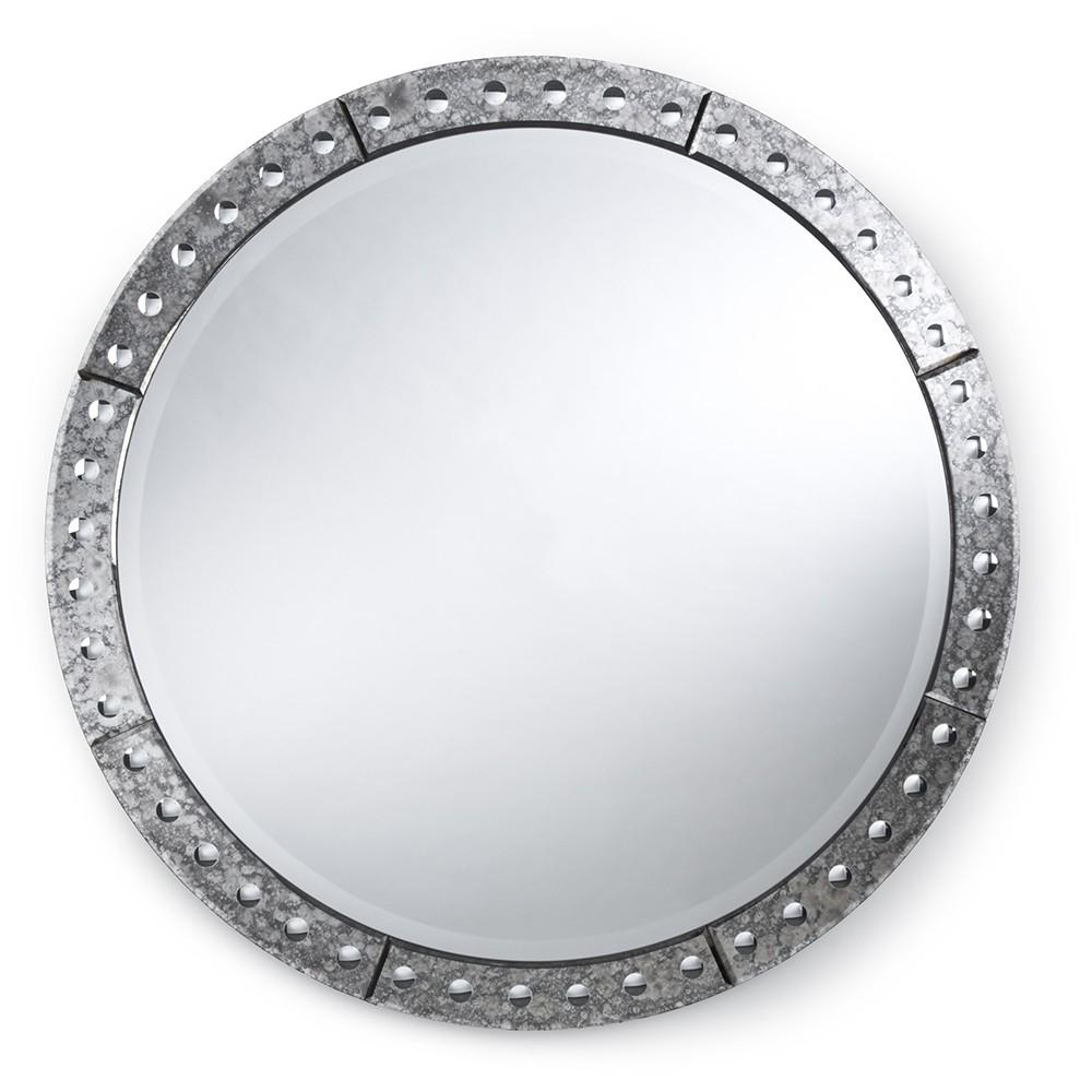 Regina Andrew Design Venetian Round Mirror 42 Candelabra Inc With Round Venetian Mirror (Image 6 of 15)