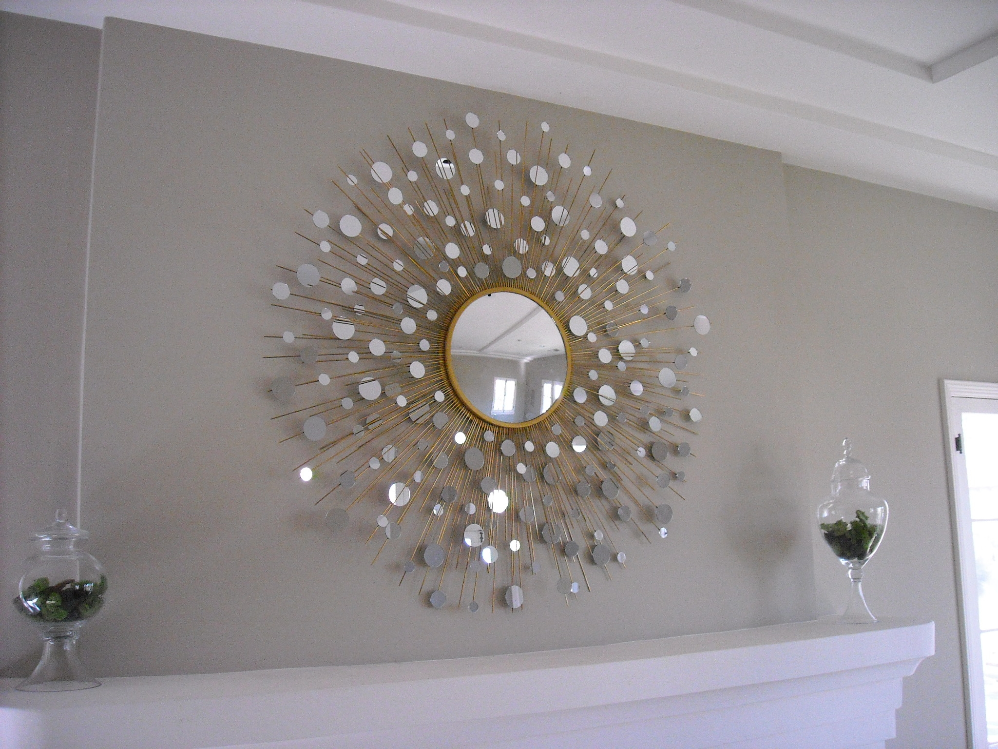 Related Postshow To Paint A Bedroom With Starburst Wall Throughout Extra Large Sunburst Mirror (View 2 of 15)