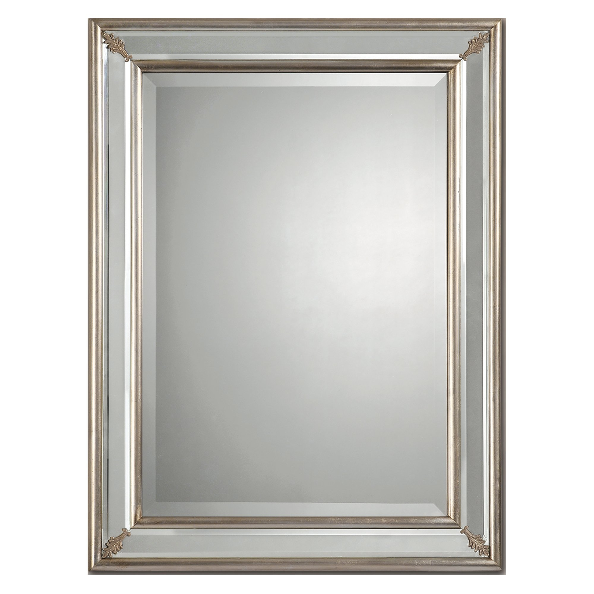 Ren Wil Beveled Wall Mirror Reviews Wayfair For Double Bevelled Mirror (Image 9 of 15)