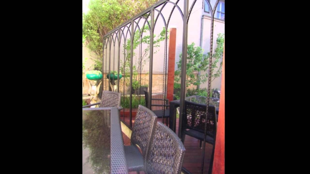 Rivas Design Outdoor Garden Mirrors And Wrought Iron Designs Youtube Within Outside Garden Mirrors (View 6 of 14)