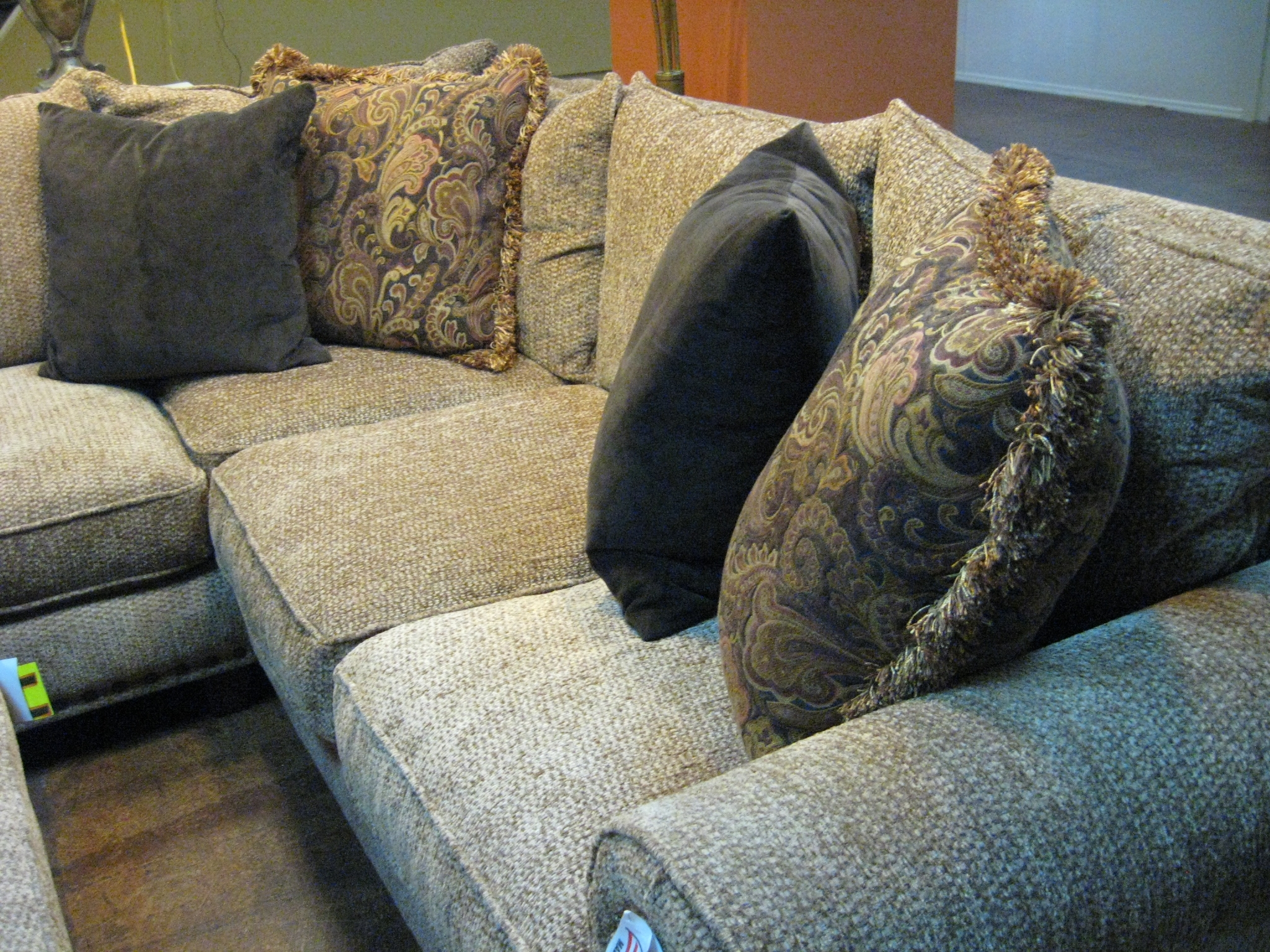 Robert Michael Sectional Sofa Phoenix Arizona Discount Outlet Regarding Down Filled Sectional Sofas (Image 10 of 15)