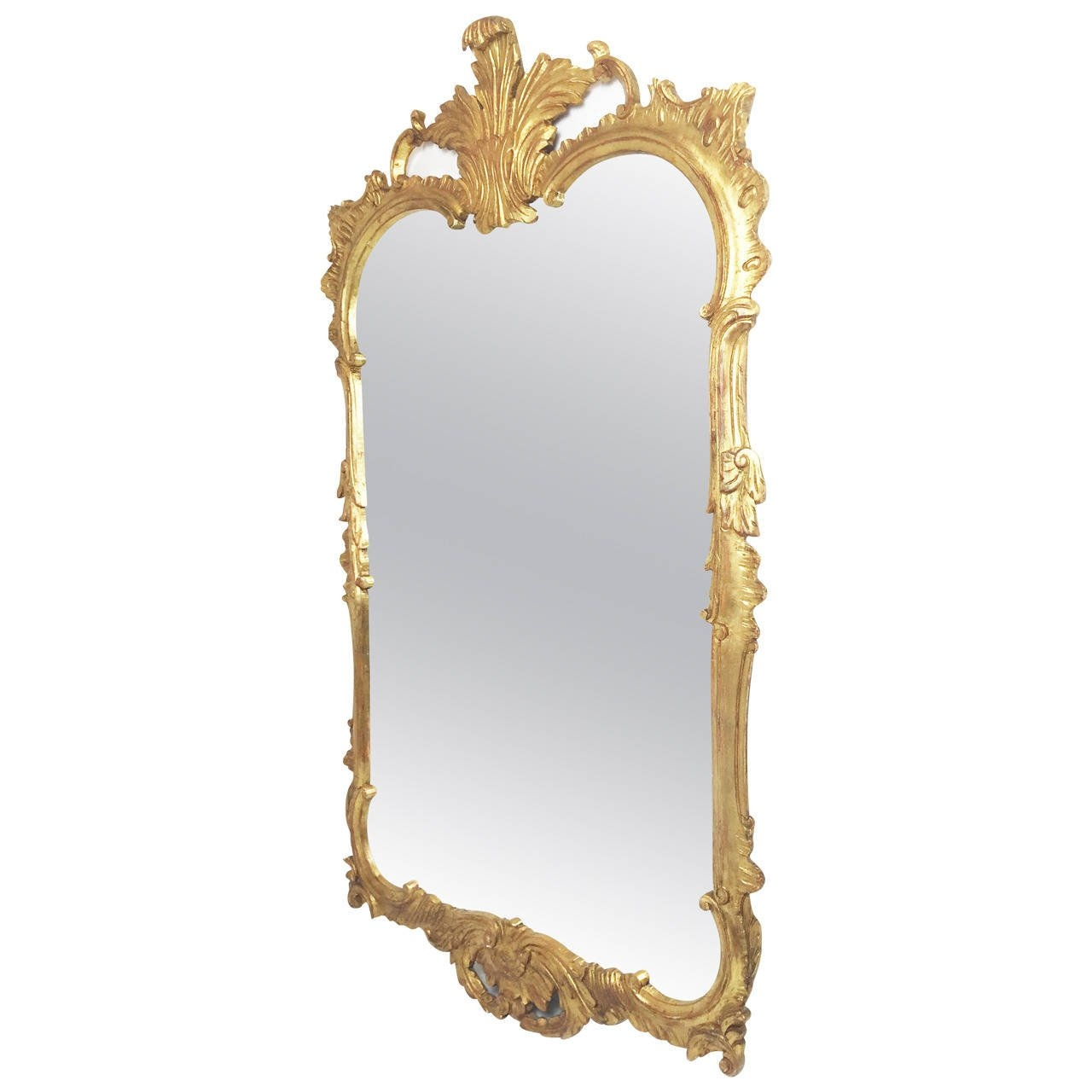 Rococo Gilt Mirror Milch And Son Circa 1950s For Sale At 1stdibs For Gilt Mirror (View 8 of 15)